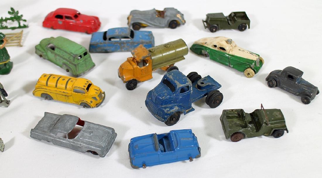 VINTAGE CARS & RAILROAD FIGURINES - 3