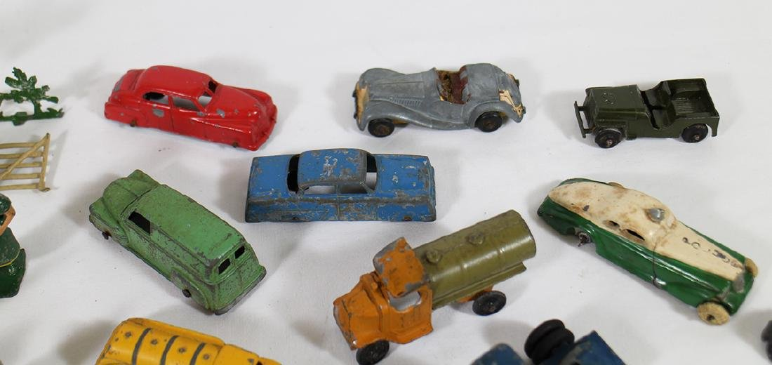 VINTAGE CARS & RAILROAD FIGURINES - 4