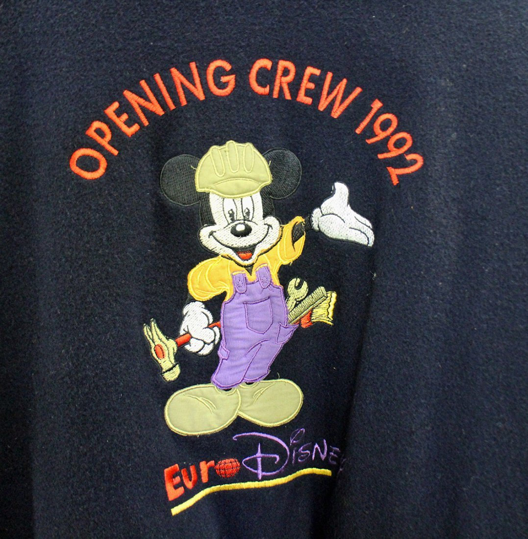 1992 OPENING CREW EURO DISNEY JACKET PARIS FRANCE