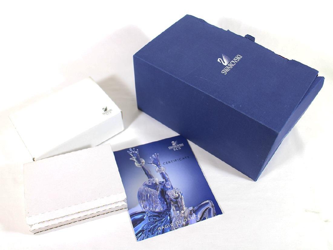 SWAROVSKI 2002 ISADORA FIGURINE W/ BOX & COA - 3