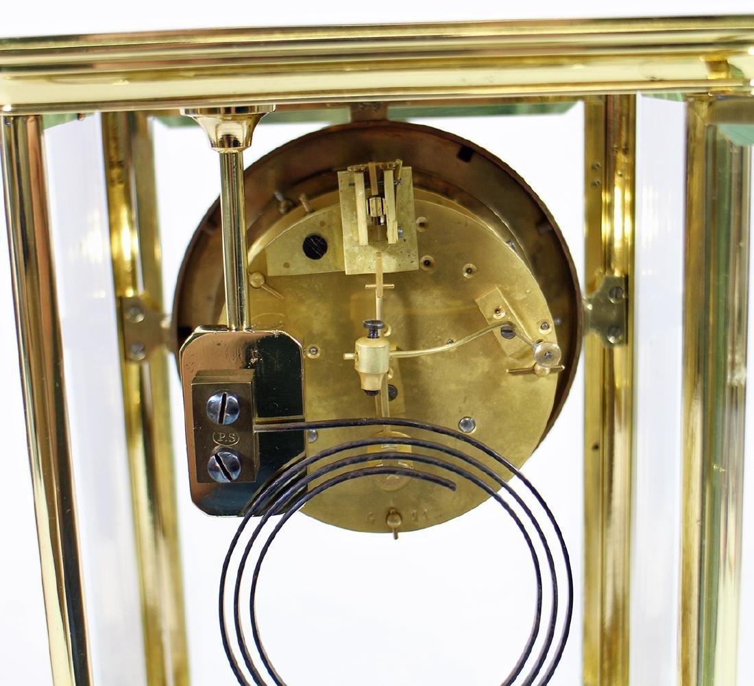 1870's FRENCH CRYSTAL AD MOUGIN REGULATOR CLOCK - 5