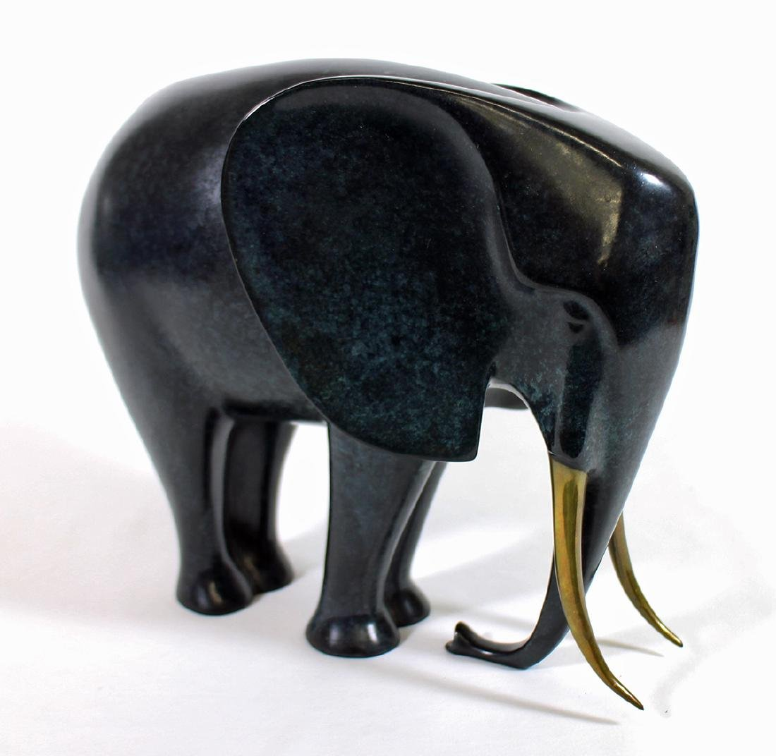 LOET VANDERVEEN AFRICAN ELEPHANT SCULPTURE - 2