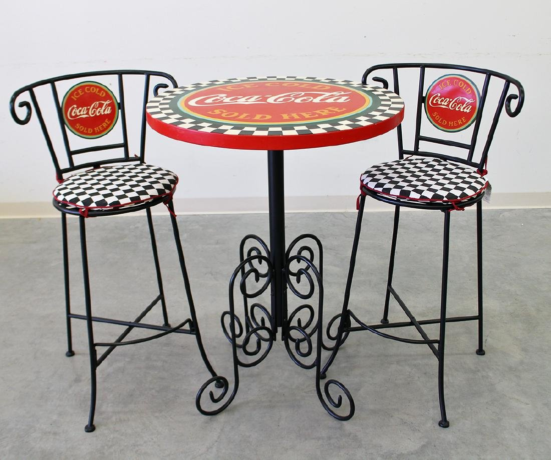 COCA COLA PARLOR TABLE
