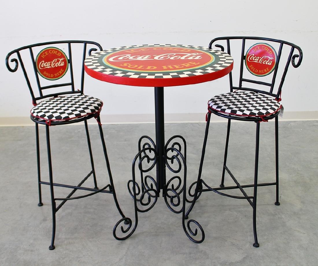 COCA COLA PARLOR TABLE