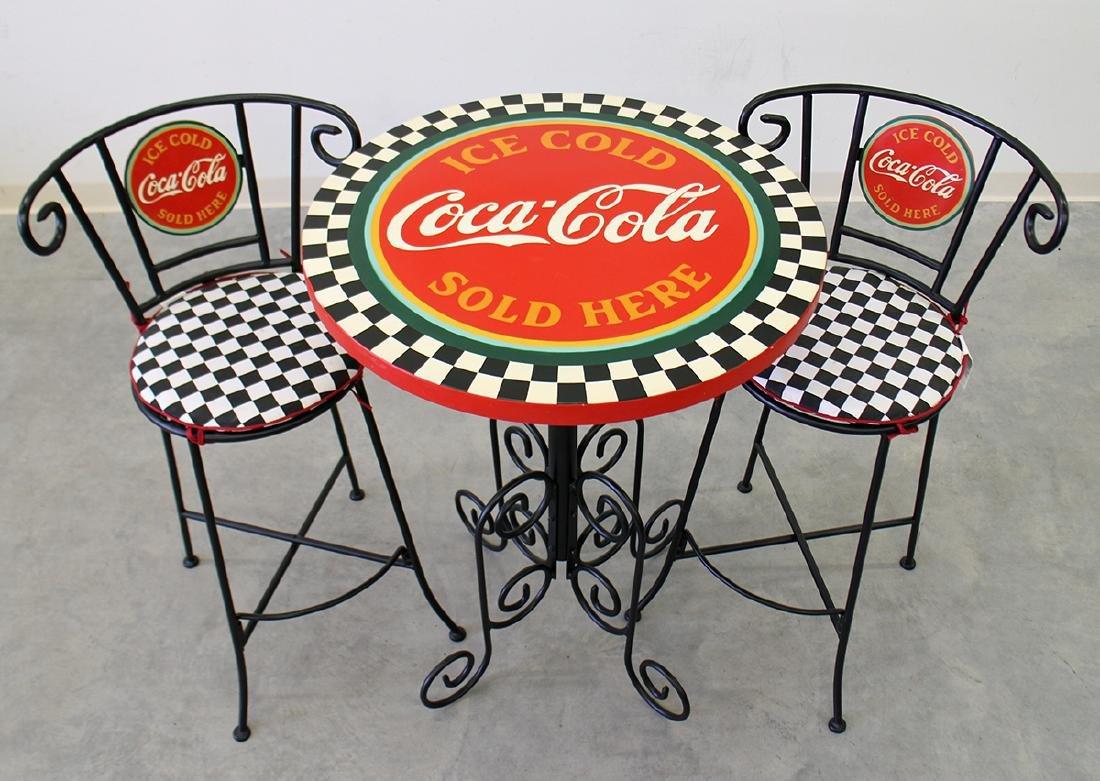 COCA COLA PARLOR TABLE - 2
