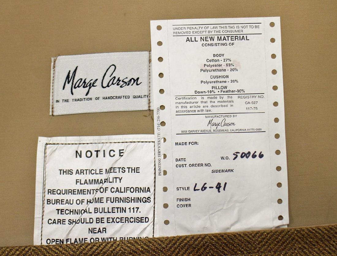 (2) MARGE CARSON CHAIRS & OTTOMAN - 6