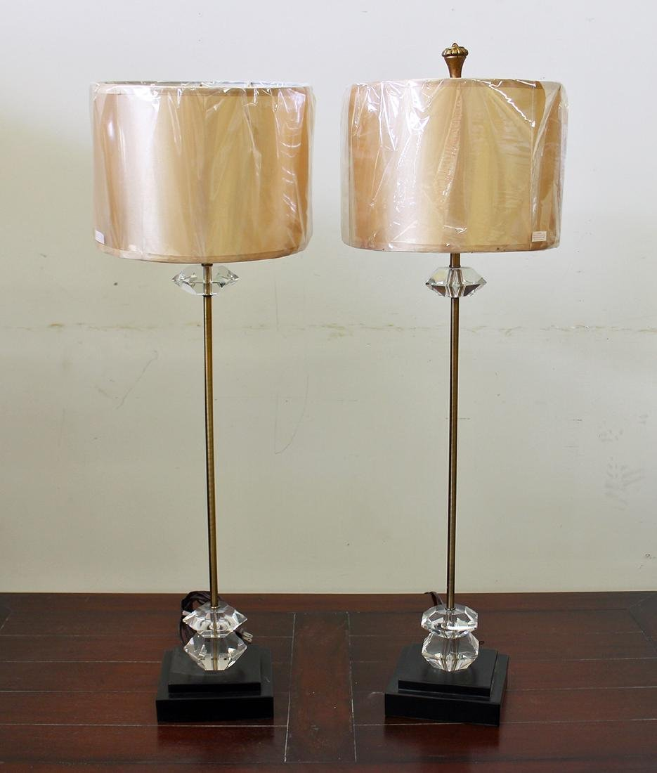 (2) TABLE LAMPS