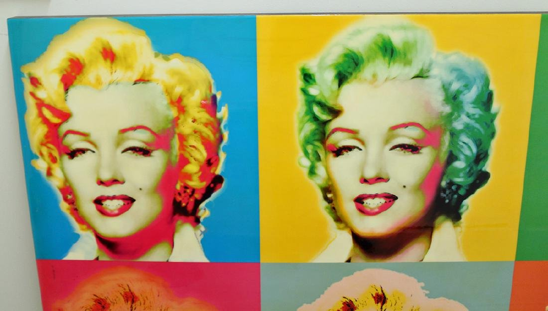 SIX MARILYN MONROE POP ART - 2
