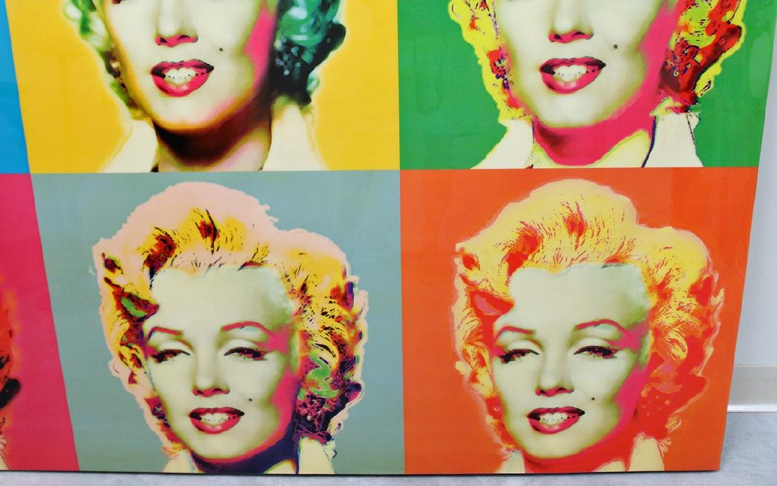 SIX MARILYN MONROE POP ART - 3