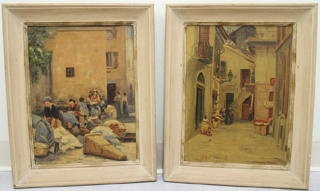 (2) JOHN CAMPBELL PHILLIPS PAINTINGS
