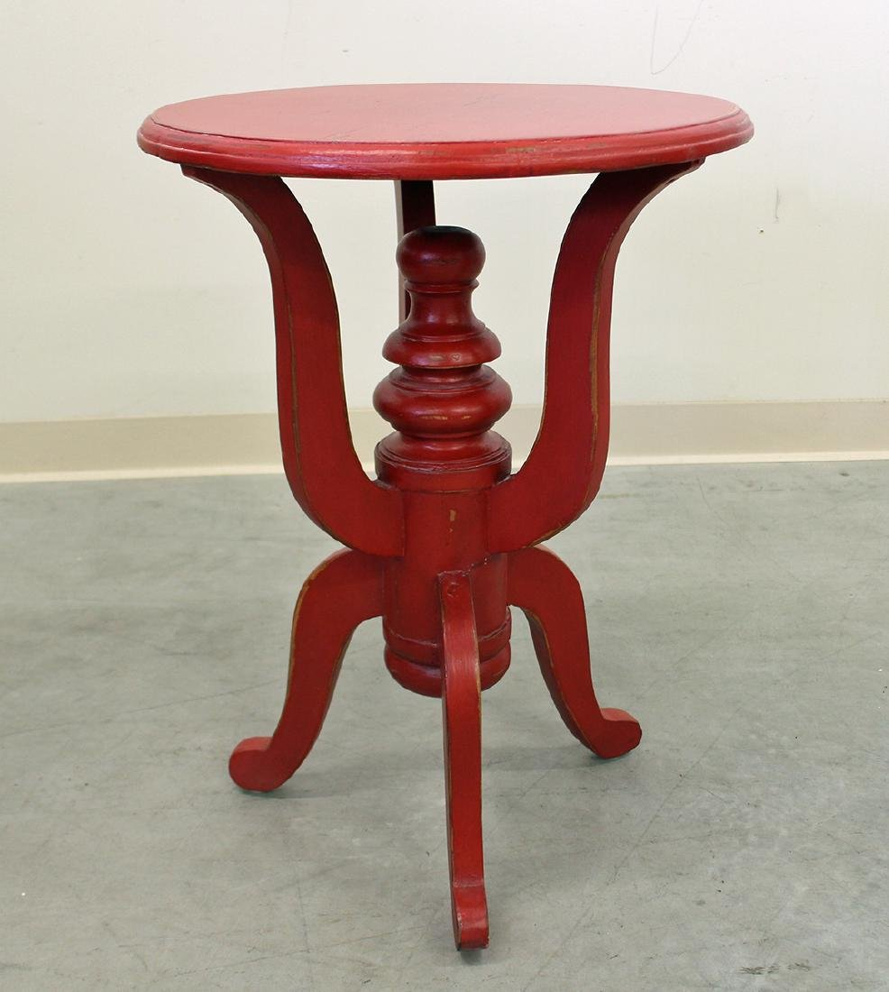 RED DARBY SIDE TABLE