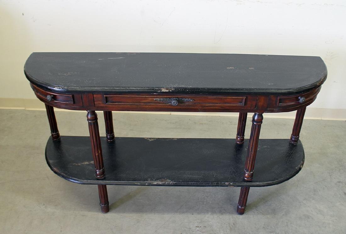 GUILDMASTER DEMILUNE CONSOLE TABLE - 2