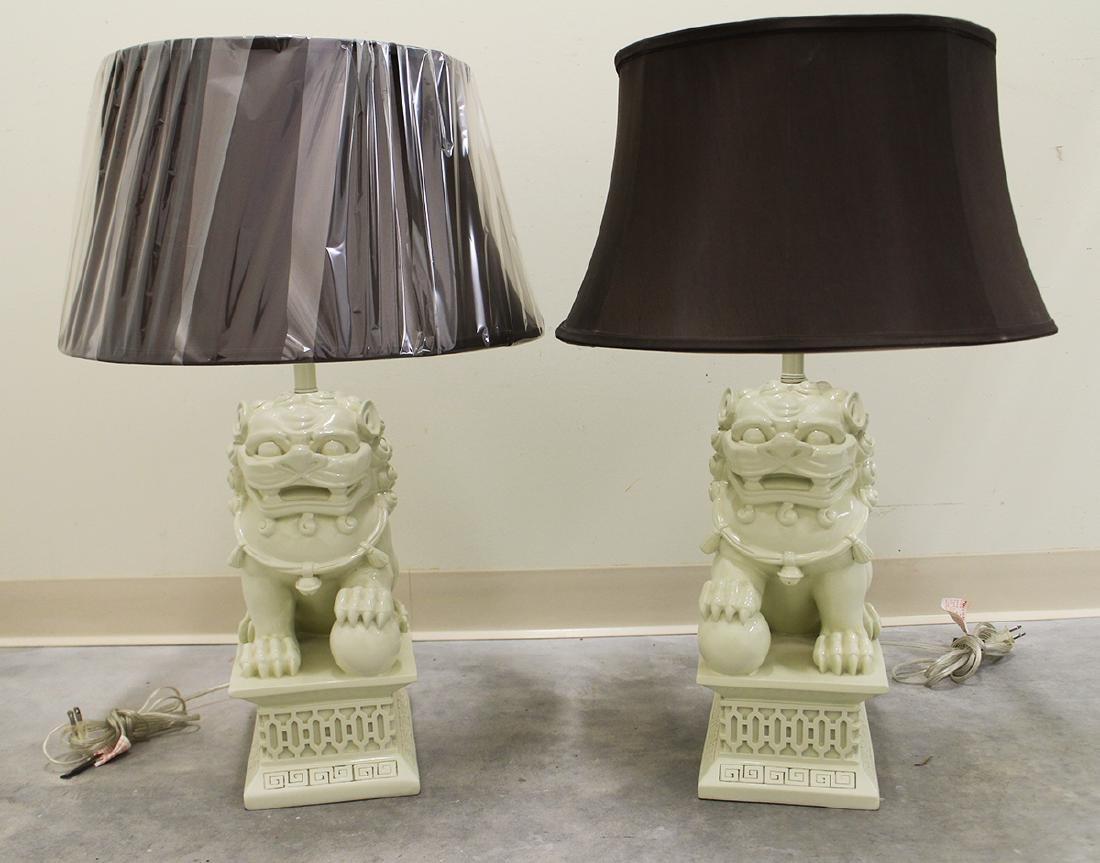 BARBARA COSGROVE FOO DOG LAMPS