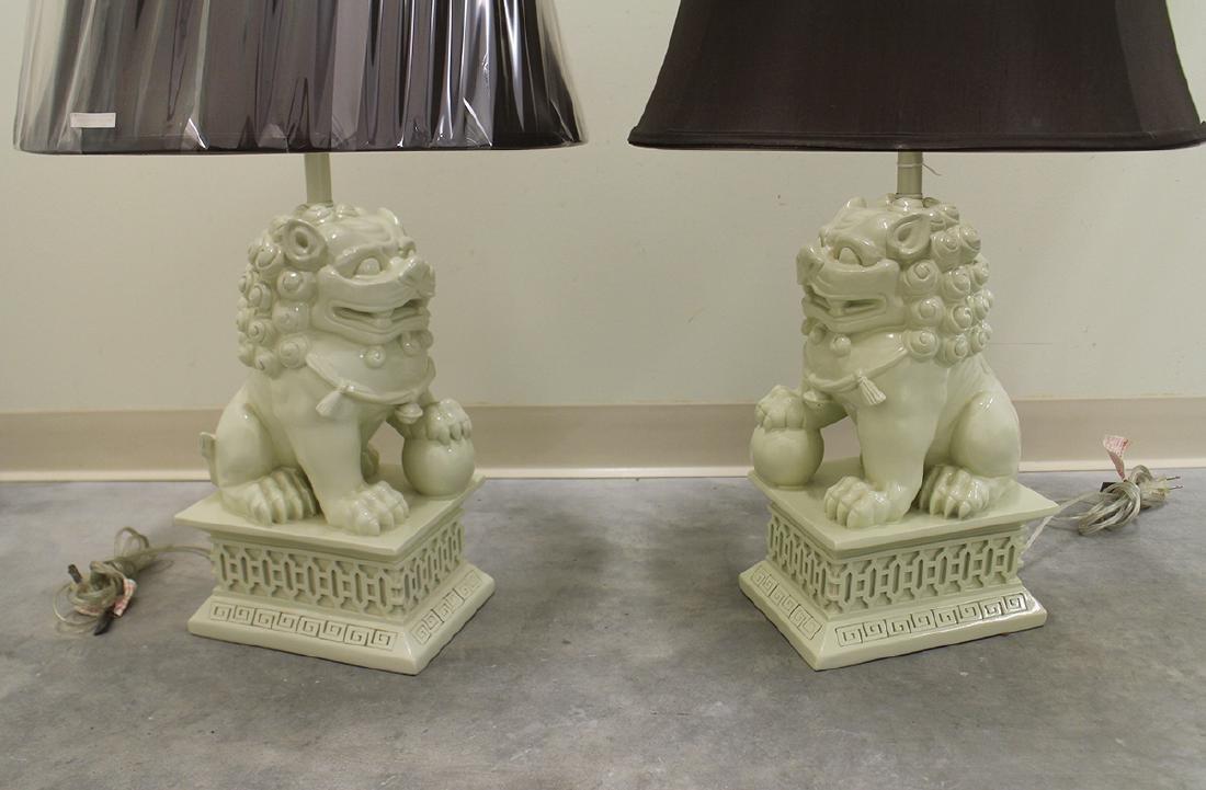 BARBARA COSGROVE FOO DOG LAMPS - 2