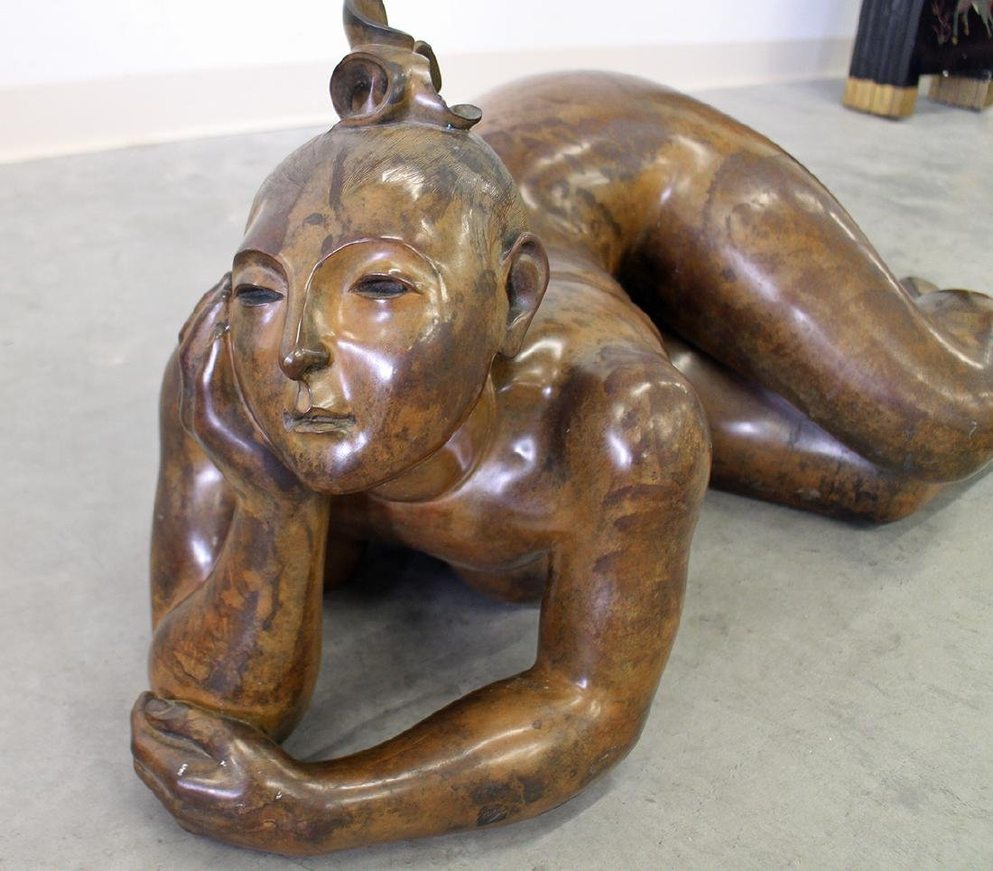 MARIA GAMUNDI BATHER BRONZE - 4
