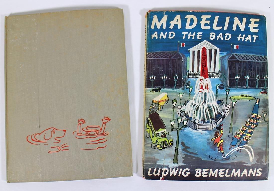 (2) VINTAGE MADELINE BOOKS - LUDWIG BEMELMANS