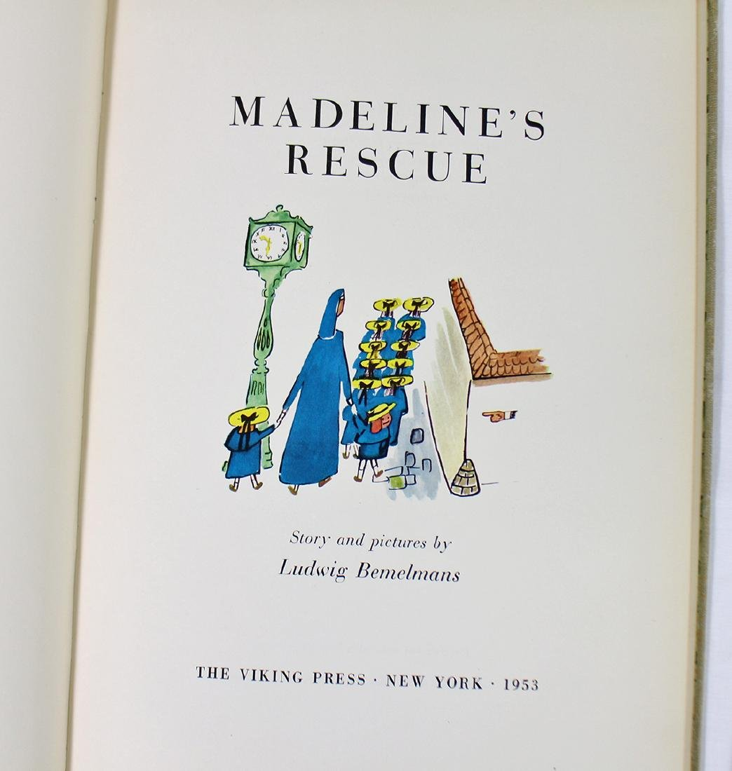 (2) VINTAGE MADELINE BOOKS - LUDWIG BEMELMANS - 2