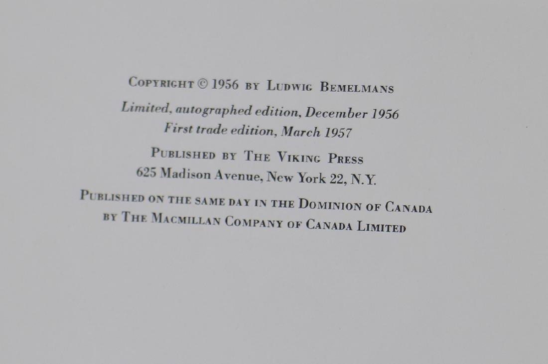 (2) VINTAGE MADELINE BOOKS - LUDWIG BEMELMANS - 3