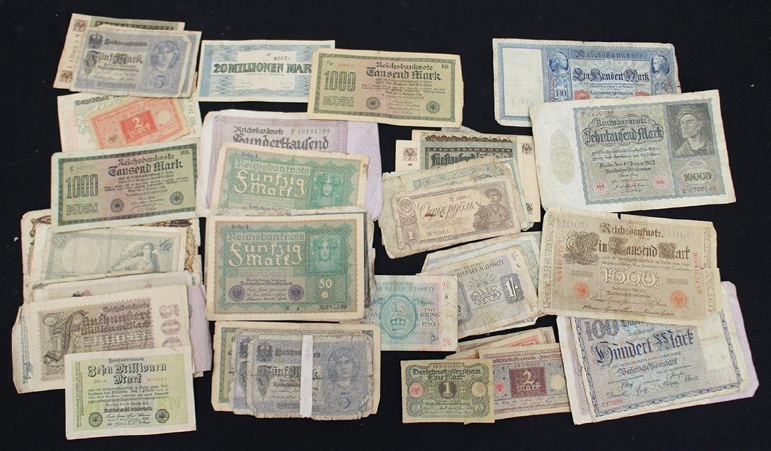 ANTIQUE GERMAN BANKNOTES & MORE