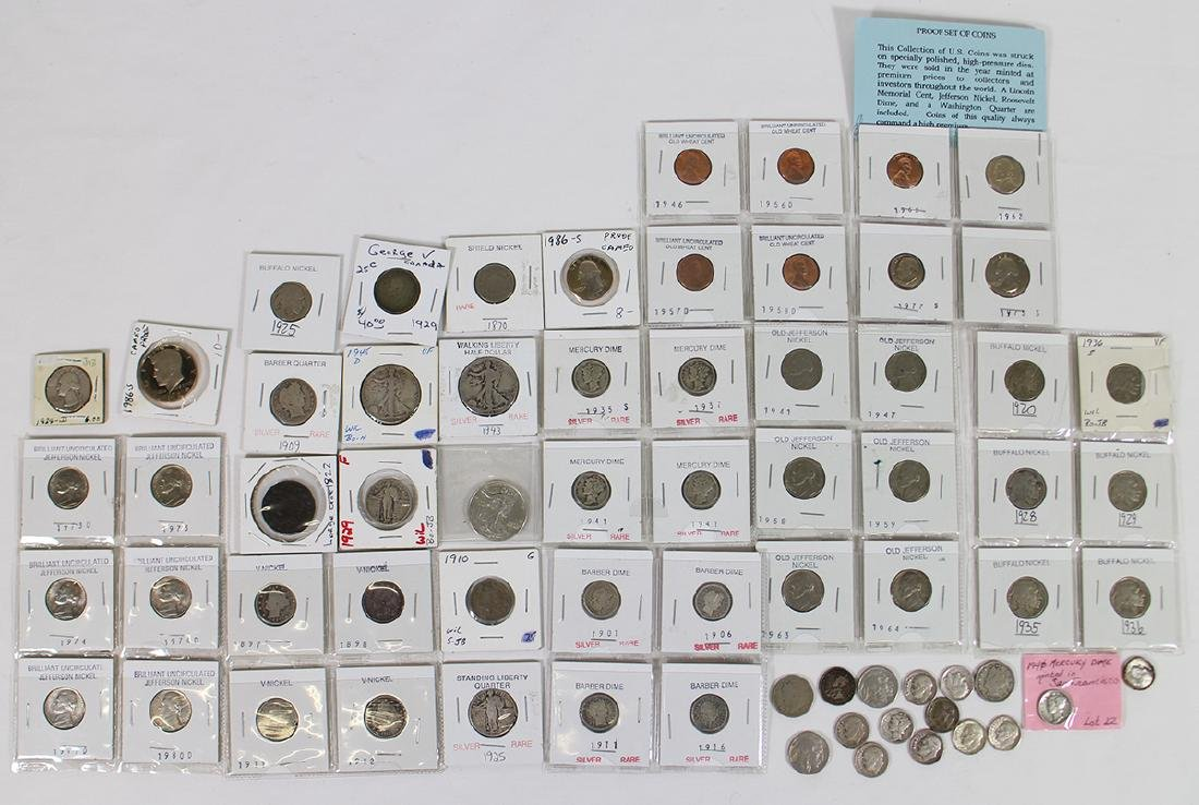 SILVER COIN COLLECTION & MORE