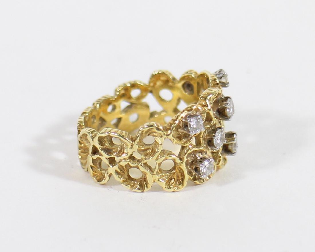 18K DIAMOND RING - 3