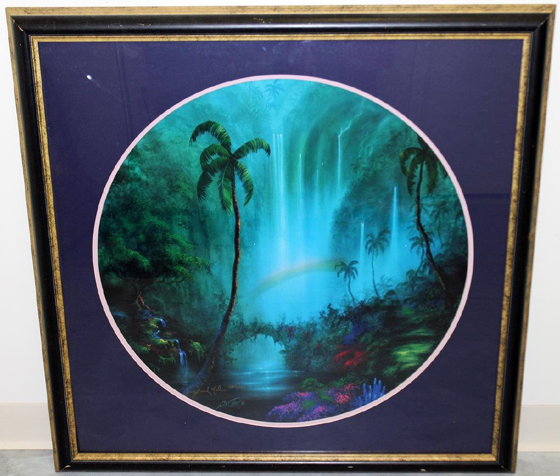 DAVID MILLER PATHWAY TO PARADISE LITHOGRAPH