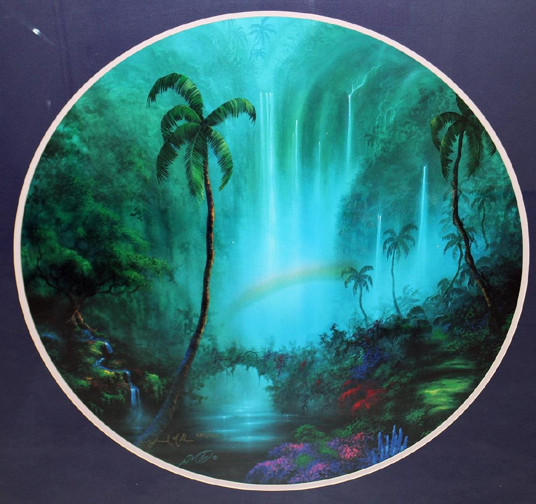 DAVID MILLER PATHWAY TO PARADISE LITHOGRAPH - 2