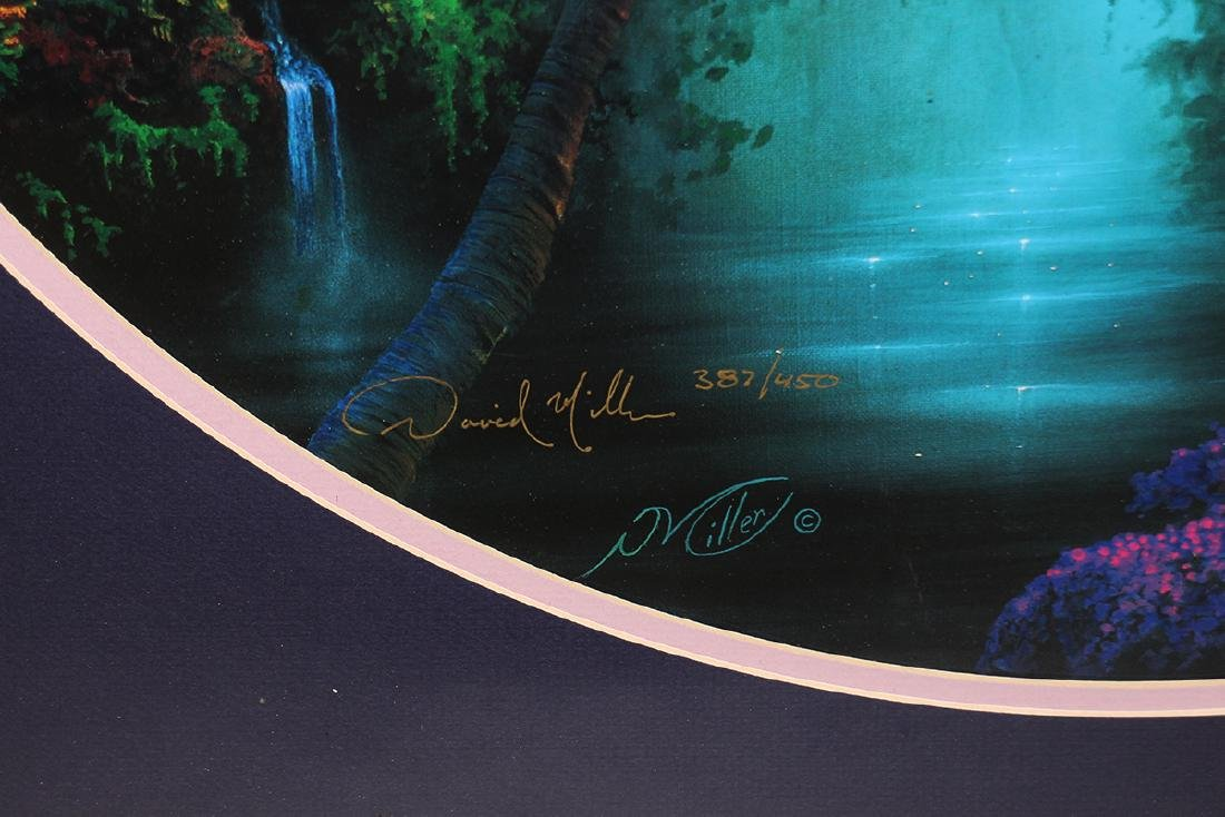 DAVID MILLER PATHWAY TO PARADISE LITHOGRAPH - 3