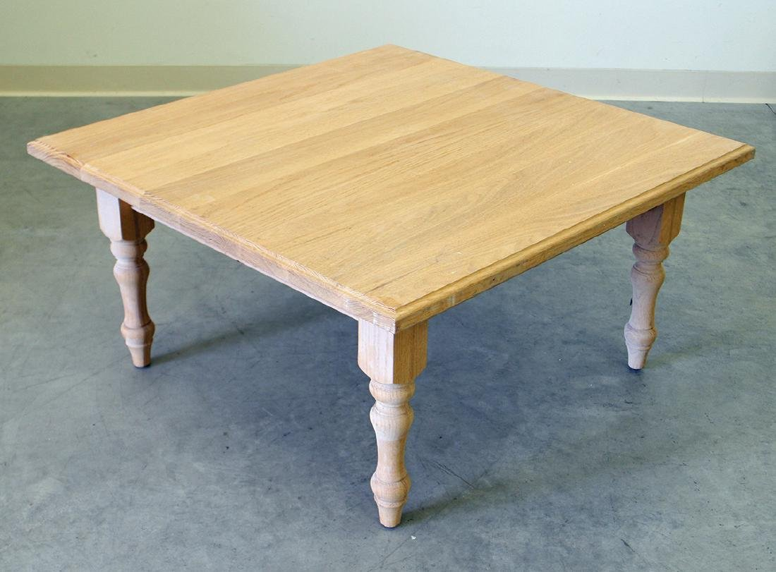 WOOD COFFEE TABLE - 2