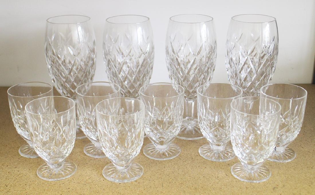 (12) WATERFORD WATER GLASSES & JUICE GLASSES