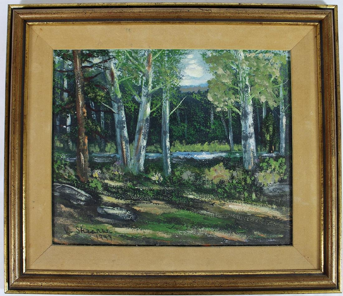 VICTOR SHEARER PAINTING - 3