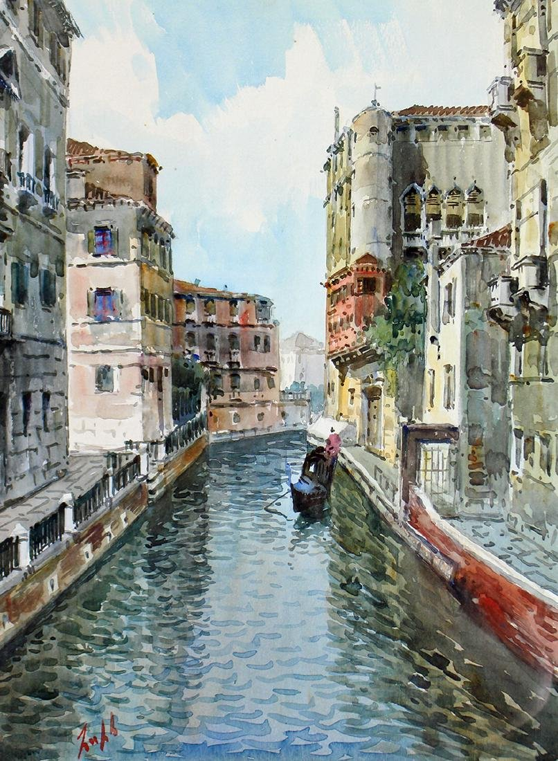 ITALY WATERCOLOR PAINTING