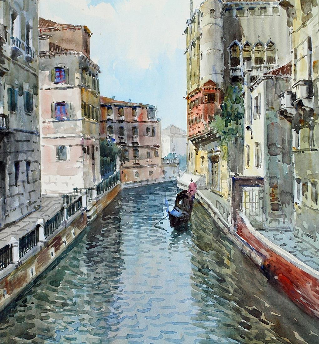 ITALY WATERCOLOR PAINTING - 2