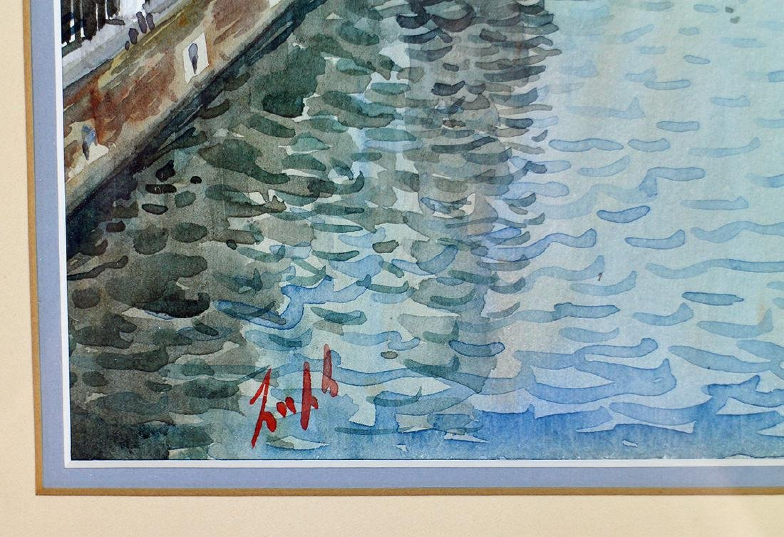 ITALY WATERCOLOR PAINTING - 3