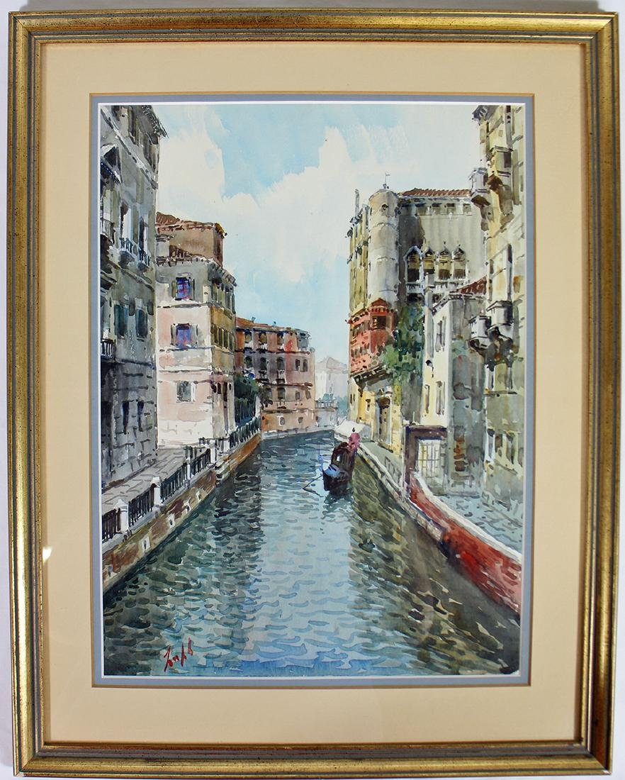 ITALY WATERCOLOR PAINTING - 4