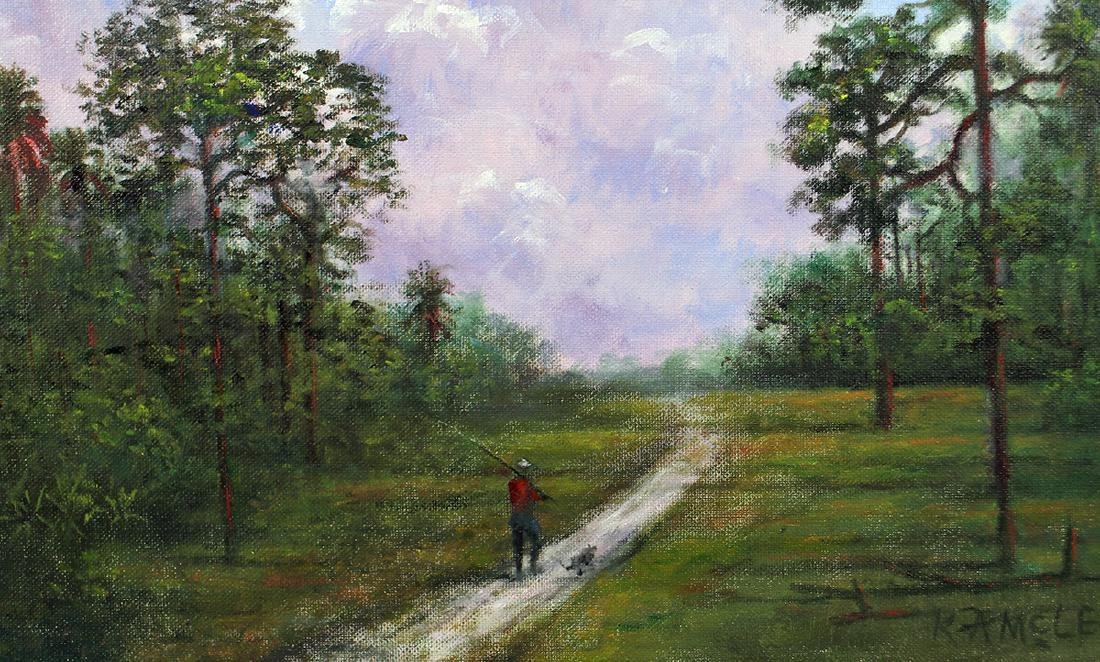 ROY MCLENDON HIGHWAYMEN PAINTING - 2