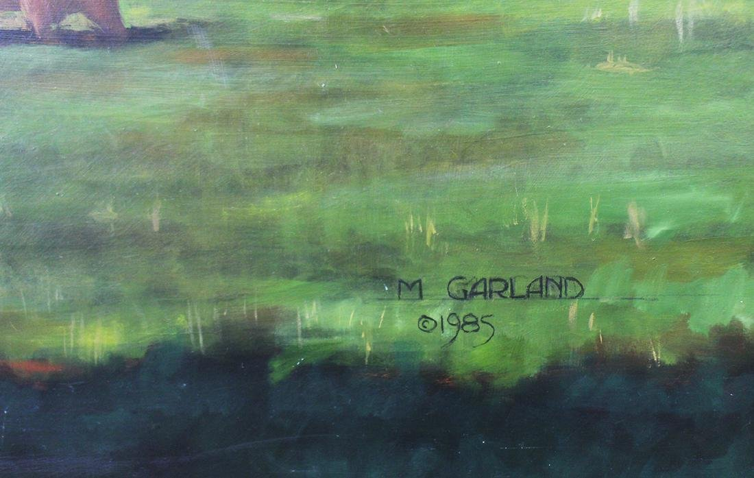 MICHAEL GARLAND GREENROCK FIELD PAINTING - 3