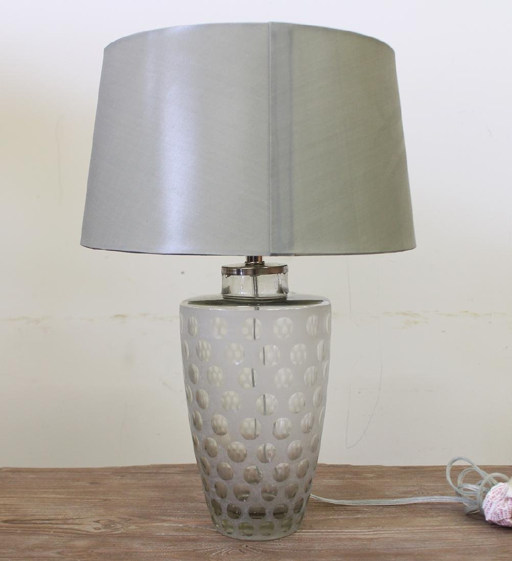 GLASS COIN DOT LAMP