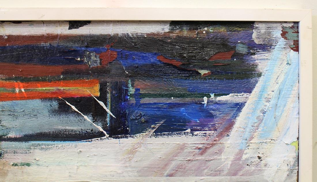 MID CENTURY ABSTRACT PAINTING - 2