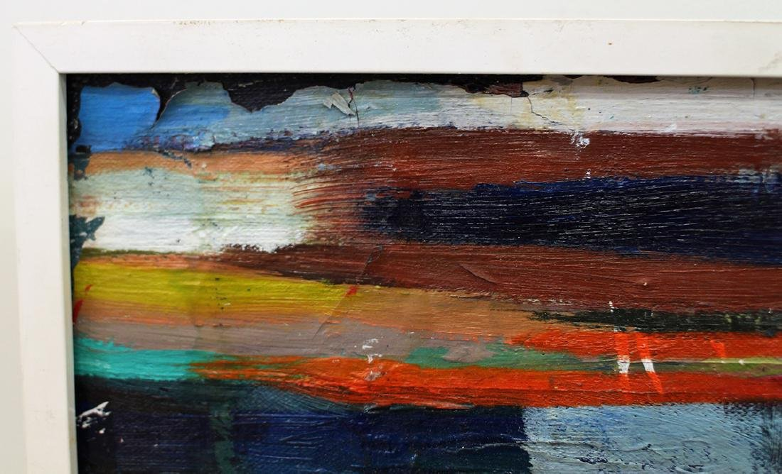 MID CENTURY ABSTRACT PAINTING - 3
