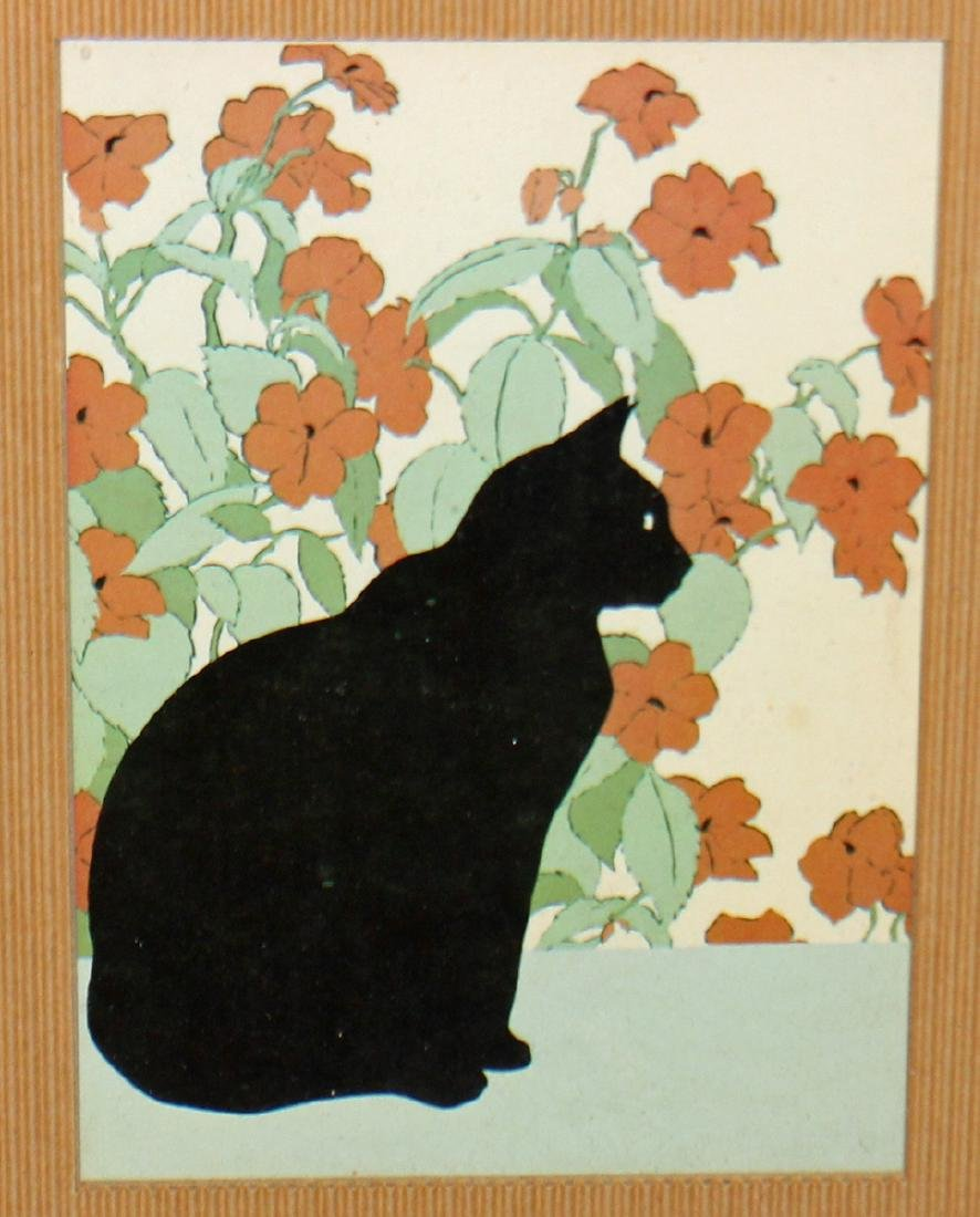 BLACK CAT LITHOGRAPH - 2