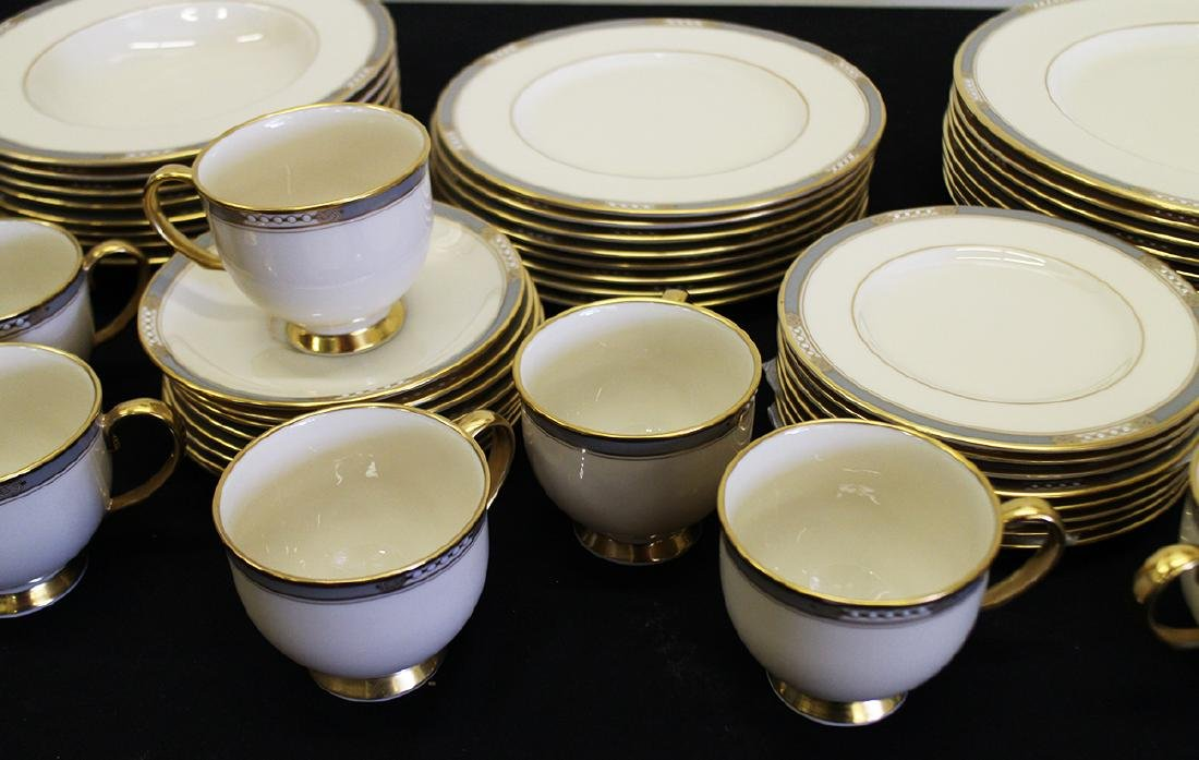 LENOX MCKINLEY PRESIDENTIAL CHINA - SERVICE FOR 8 - 3