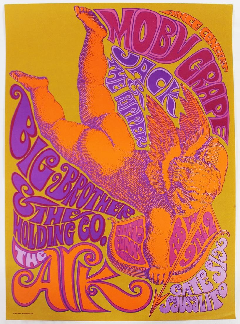 1967 BIG BROTHER & THE HOLDING COMPANY POSTER