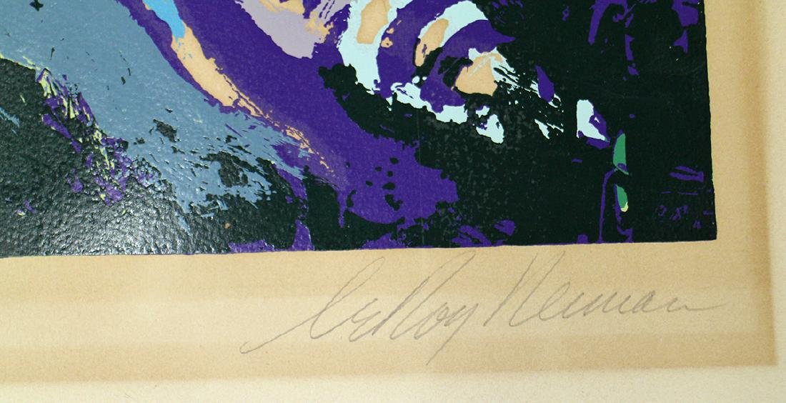 """LEROY NEIMAN OHIO STATE """"ARCHIE"""" LITHOGRAPH - 2"""