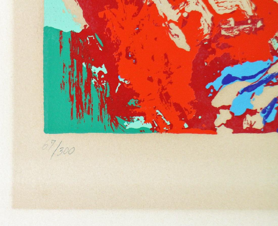 """LEROY NEIMAN OHIO STATE """"ARCHIE"""" LITHOGRAPH - 3"""