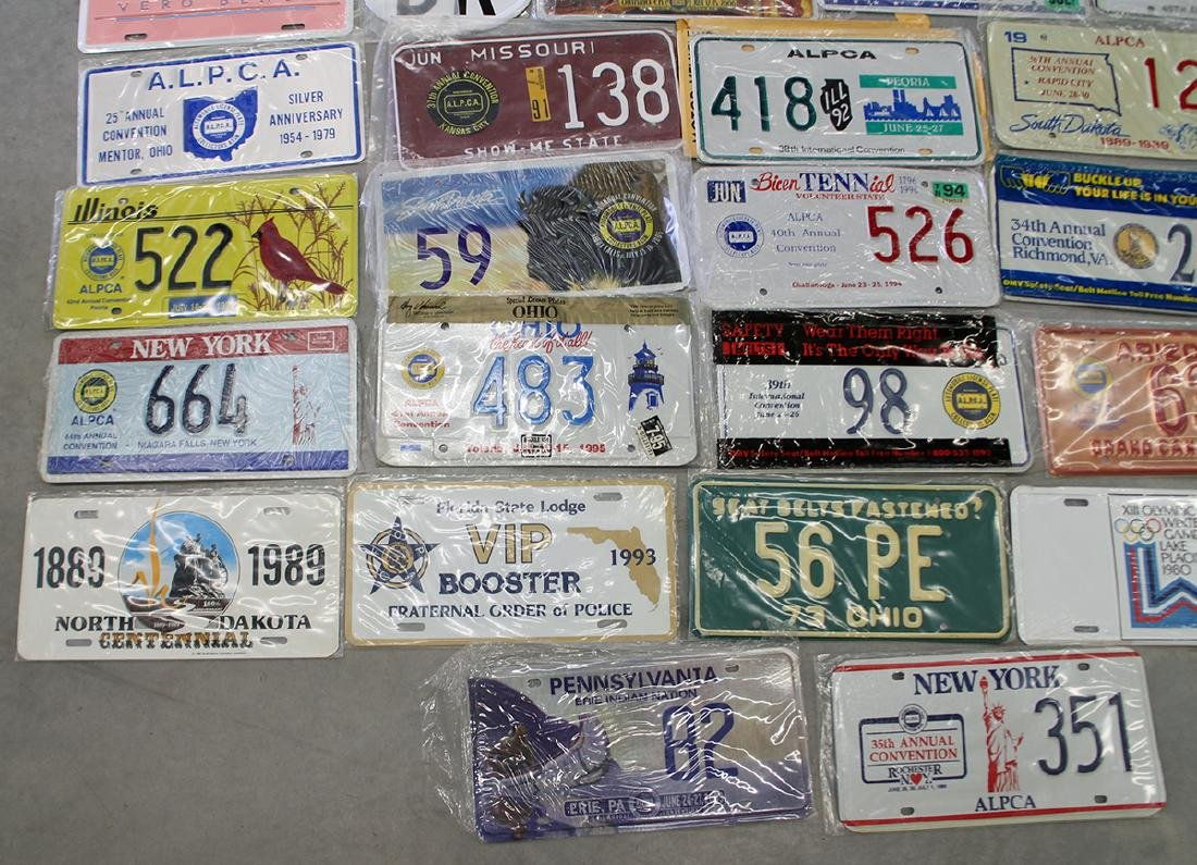 LICENSE PLATE COLLECTION - 3
