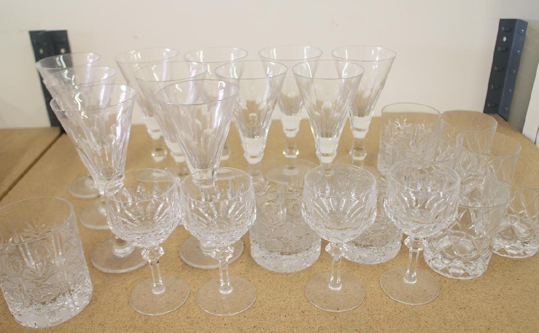 ASSORTED GLASS STEMWARE - 2