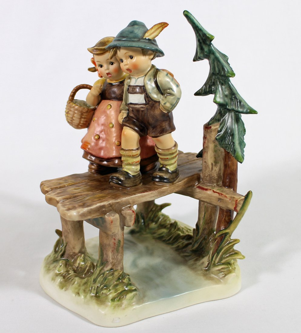 HUMMEL ON OUR WAY FIGURINE W/ BOX