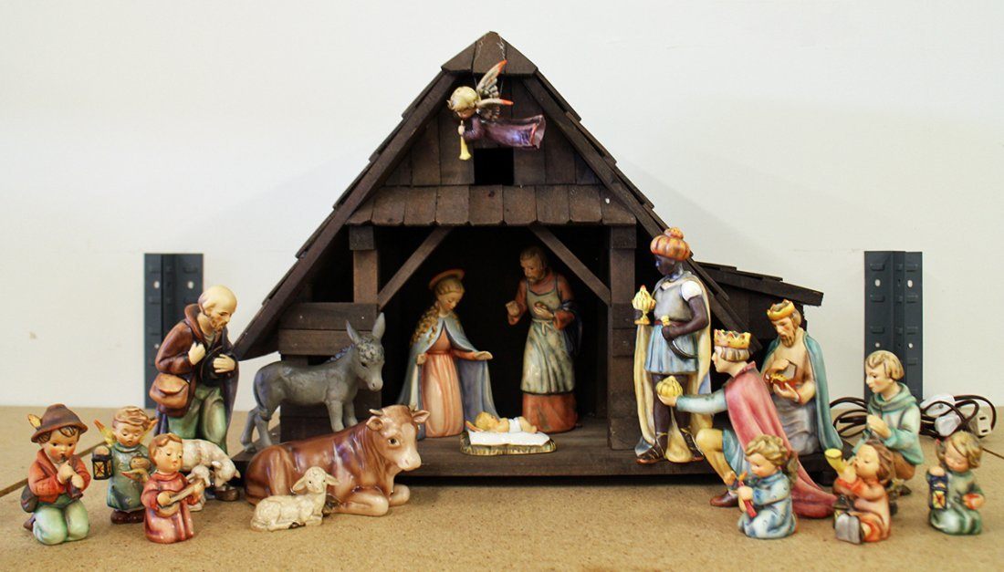 HUMMEL NATIVITY SET