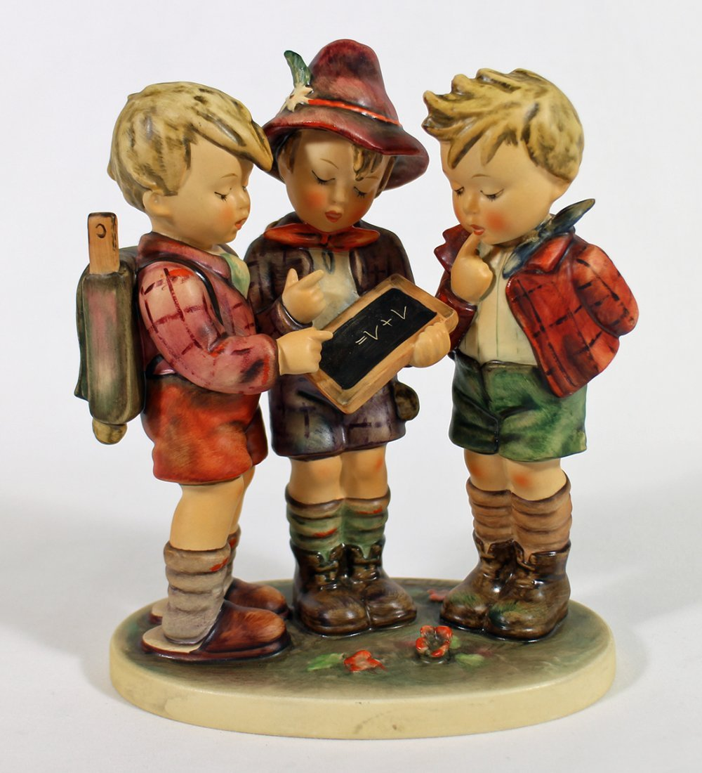 HUMMEL SCHOOL BOYS FIGURINE